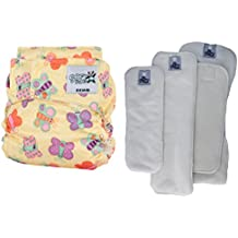 SoftBums Echo One Size Adjustable Cloth Diaper - 4 Piece Variety Trial Pack
