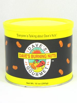 Dave's Burning Hot Nuts (Pack of 12)