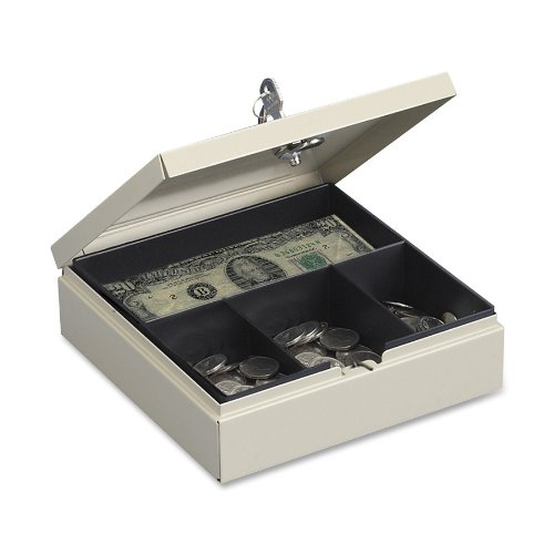 STEELMASTER Locking Drawer Safe, Includes Keys, Sand (227107003)