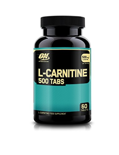 Optimum Nutrition L Carnitine 500mg Tablets