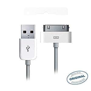 Cable USB Original de Apple MA591G / A para iPhone 4 iPhone 4S Ipad --- Version BULK (Sin Blister)