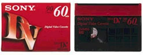 Sony MiniDV tape 60 minutes ten 10DVM60R3 Japan Import TERNS