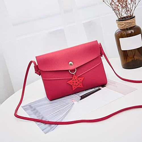 Small Crossbody Bolso al para Hombro Negro showsing Red Bags Mujer ZRxxP