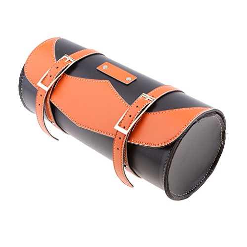 Homyl Sac d'Outil de Rangement de Moto Orange Stockage Sacoche de Bagage