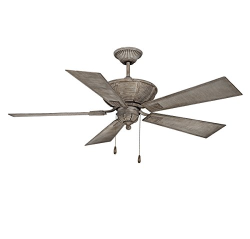 Savoy House 52-110-545-45 Ceiling Fan, (Country Transitional Five Light)