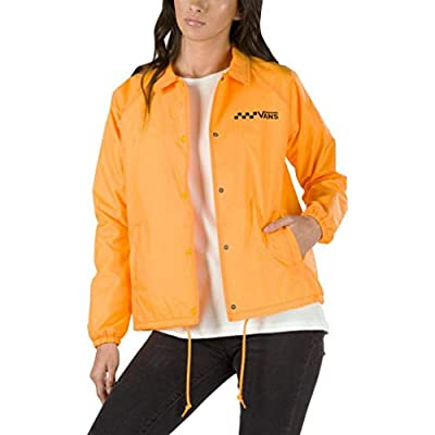 Vans Thanks Coach Women's Yellow Windbreaker Jacket Size XL: Clothing