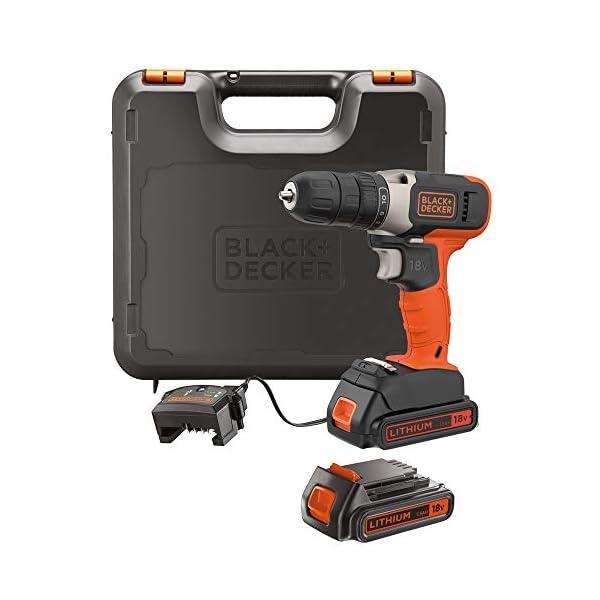 Black+Decker Drill Driver 18V