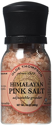 Olde Thompson Himalayan Pink Salt Case, 10 oz., 1 Pack