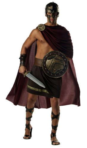 Spartan Warrior Adult Costume - X-Large