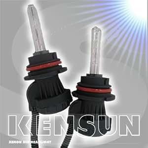 Kensun 6000k 9007 (Hb5) Hi/Lo HID Bi-Xenon Bulb (1 pair diamond white color) - 2 Year Warranty