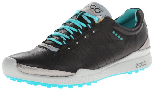 ECCO Women's Biom Hybrid Golf Shoe,Black,41 EU/10-10.5 M US by ECCO