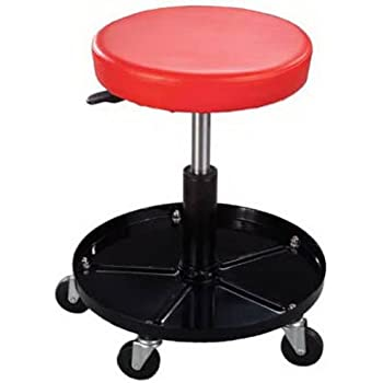 Amazon Com Professional Shop Seat Rolling Stool With