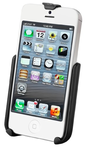 Ram Mount Cradle for iPhone 5/5s without Case/Skin/Sleeve - Non-Retail Packaging - Black