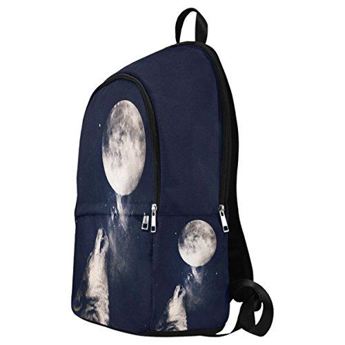 InterestPrint Daypack Backpack multi Custom Travel School Casual 11 College Bag Fantasy 8Z8wq1