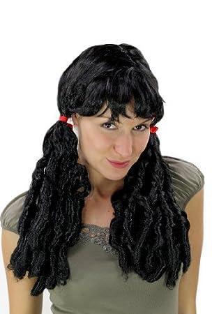 WIG ME UP ® - Peluca, wig, carnaval, Cosplay, Barroco, rizos