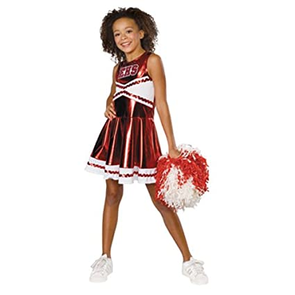 Amazon.com: Disfraz de animadora niña de High School Musical ...