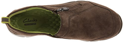 Clarks Mujeres Hedge Poole Flat Gris / Verde