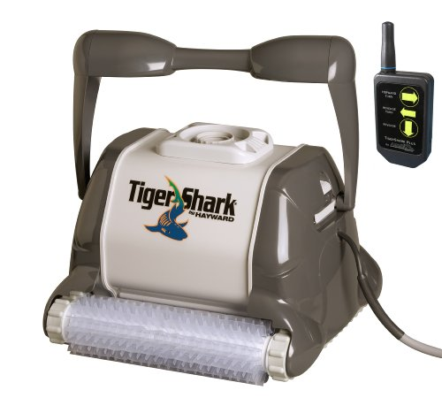 Hayward RC9955 TigerShark Plus Automatic Robotic Pool Cleaner with Remote Control ()
