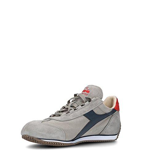 Diadora Heritage Sneakers Uomo 156988EQUIPEC4828 Cotone Grigio