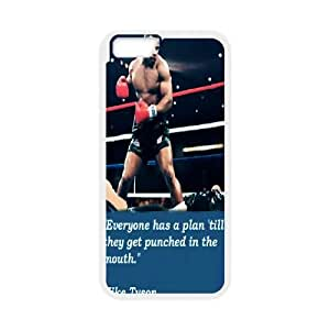 "LSQDIY(R) Mike Tyson iPhone6 4.7"" DIY Case, Brand New iPhone6 4.7"" Plastic Case Mike Tyson"