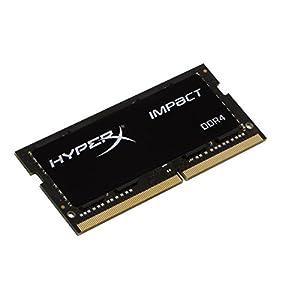HyperX Kingston 16GB 2666MHz DDR4 Non-ECC CL15 SODIMM Impact (HX426S15IB2/16), Black 41yfrdW7z5L. SS300