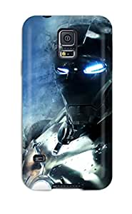 Iron Man Case Compatible With Galaxy S5 Hot Protection Case