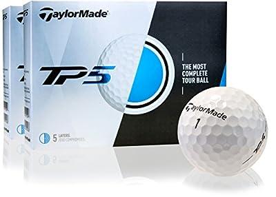 Taylor Made TP5 Golf Balls- Double Dozen