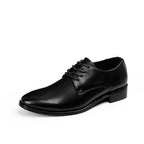 Zapatos ocasionales del negocio del verano clásico/Zapatos salvajes británicos Negro