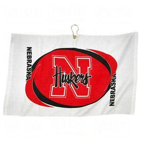 - Team Effort Printed Hemmed Towel- Choose Your School - Nebraska Cornhuskers One Size