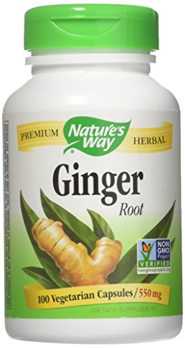 Nature's Way Ginger Root 100 Cap (Pack of 2)