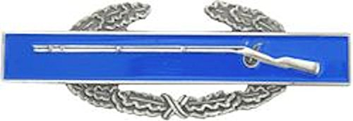 HMC Mfg. Combat Infantry Badge Small Hat Pin, Full Color