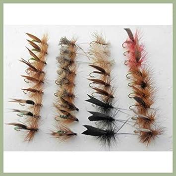 3 Daddy Longlegs Detached Dry Trout Flies Fishing Flies Sizes 10 14 12