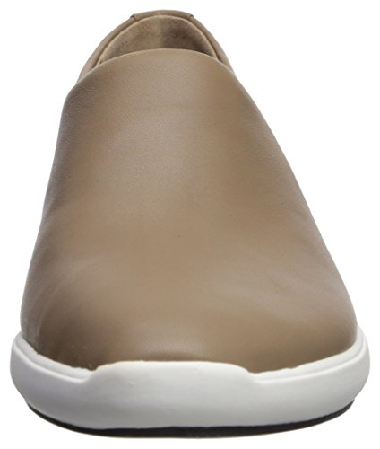 Leather Slip Malena Sneaker Spiga Mink Via Women's Yagpn11