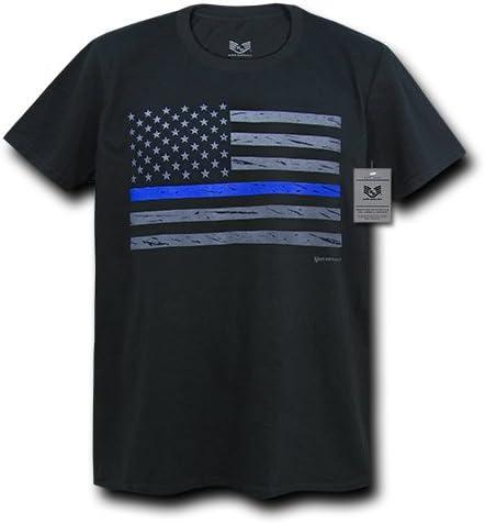 Black Rapiddominance S03-TBL-BKL-01 USA Flag Thin Blue Line S