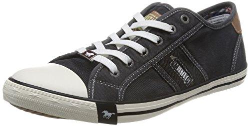 43 Schwarz Grigio Nero Schürhalbschuhe Sneaker 2 taglia 9 Herren Mustang w0qYzOt5