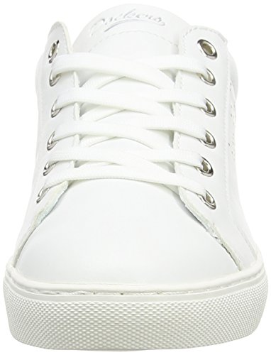 weiß 591 Sneaker Dockers Bianco Basse silber 610 Gerli 38pd204 weiss Donna By I4PZA8