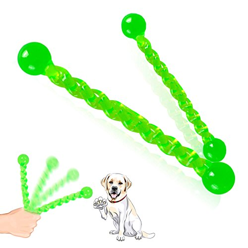 (Dog Toys Fetch Sticks Chew Durable Rubber Dog Interactive Stick for Small to Medium Size Puppies & Adult Dogs Teeth Kailian)