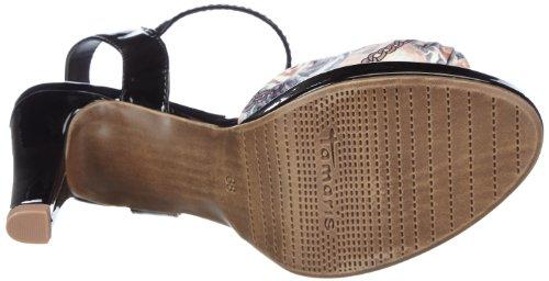 Tamaris Tamaris - Zapatos de pulsera Mujer Varios colores (Mehrfarbig (BLACK COMB 098))
