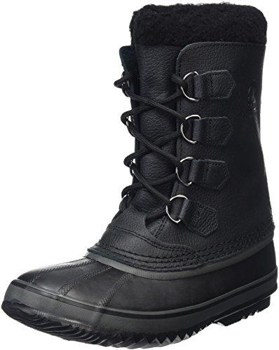 Sorel NM1439 - Botas de cuero para hombre Negro (Black 010Black 010)