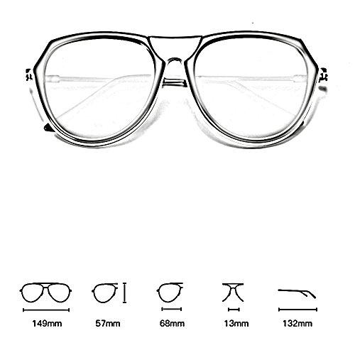 playa ligeras ZHIRONG E C de Gafas de de sol viaje polarizadas retra marco la conducción del de moda la de Color sol grandes gafas XrwpXZBgq