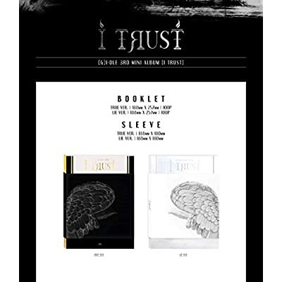 (G) I-DLE - I Trust [True+Lie ver. Set] (3rd Mini Album) [Pre Order] 2CD+2Photobook+2Folded Poster+Others with Extra Decorative Sticker Set, Photocard Set: Home & Kitchen
