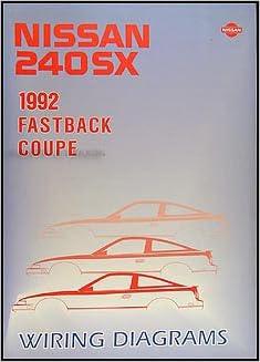 1992 Nissan 240SX Wiring Diagram Manual Original: Nissan: Amazon.com: BooksAmazon.com