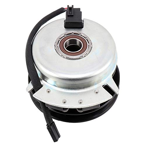 SCITOO New Electric PTO Clutch 717-05121 Electric PTO Lawn Mower Clutch Compatible with Bolens/Cub Cadet/Huskee/MTD/Sears Craftsman/Troy Bilt/White Outdoor (Huskee Mower)