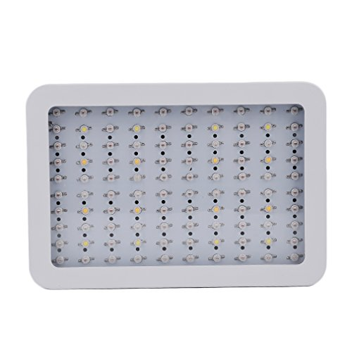 Homgrace 1000W LED Plant Grow Light, Full Spectrum Grow Lamp for Greenhouse Hydroponic Indoor Plants Veg, Larger Size Plant Light by Homgrace