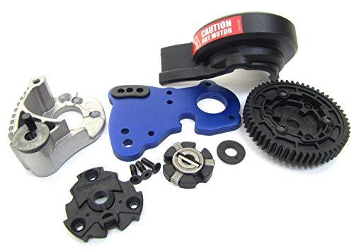 BrushlessE-REVOSPUR GEAR, Slipper Clutch, Brushed Dual Motor Mount Traxxas - Gear E Revo Traxxas