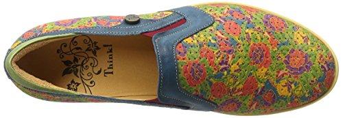 Think Seas, Mocassini Donna Multicolore (Multicolour 99)
