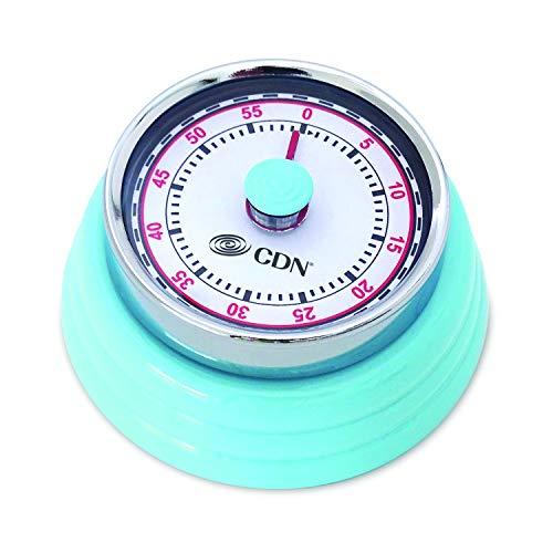 CDN MT4-B Compact 60 Min Mechanical Timer-Blue, ()