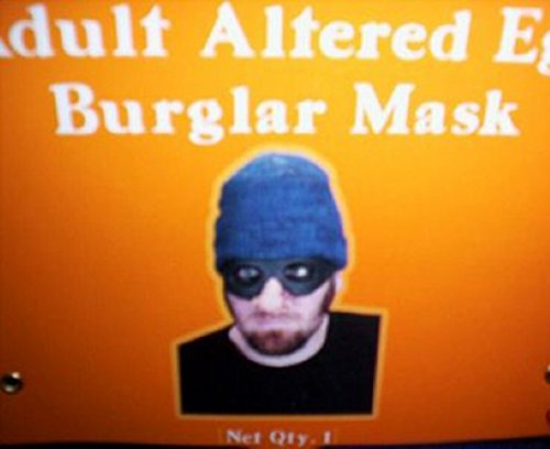 Burgl (Robber Mask Costume)