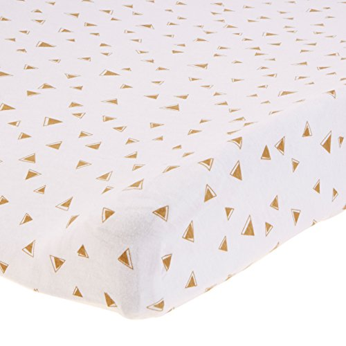 American Baby Company Piece Printed Cotton Jersey Knit Fitted - American table pad company