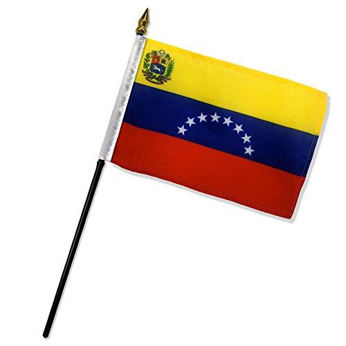 Quality Standard Flags Dozen Venezuela